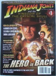 Indiana Jones Official Magazine #1 Kingdom Of The Crystal Skull